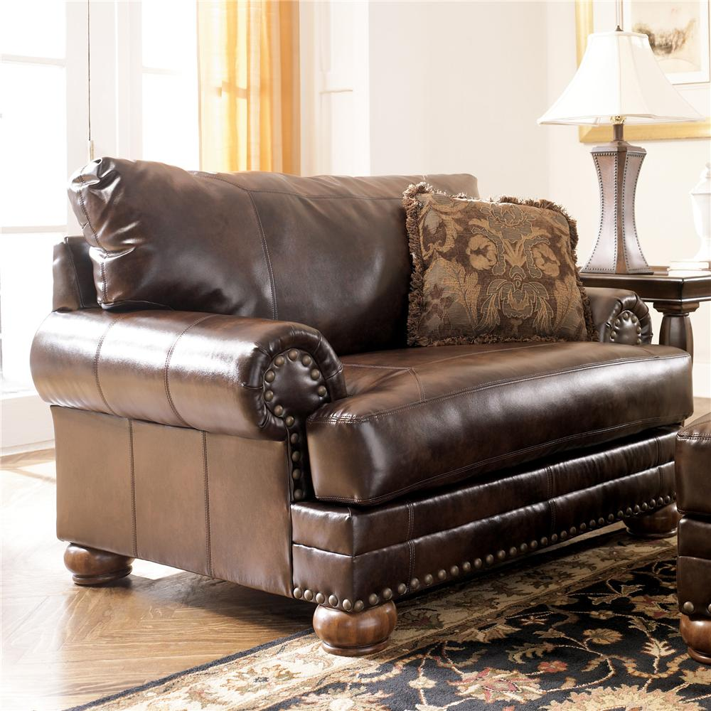 Ashley 99200-23 Chaling DuraBlend Chair and A Half