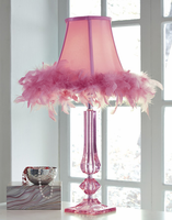 Auren - L857604 - Acrylic Table Lamp (1/CN) - Pink