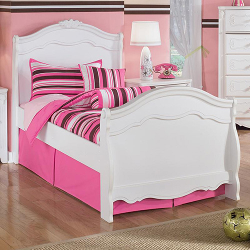 B188-21-26-62N-63N-82N Exquisite Twin Sleigh Bedroom Set