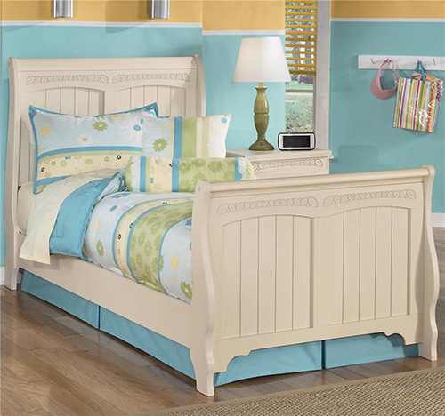 B213-21-35-62-63-82 Cottage Retreat Twin Sleigh Bedroom Set