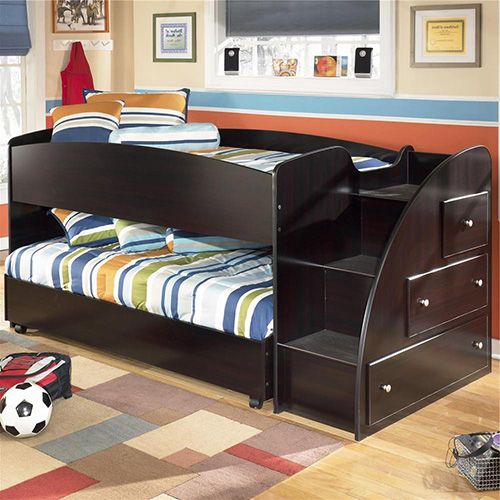 Ashley B239 68b Embrace Twin Loft Caster Bed