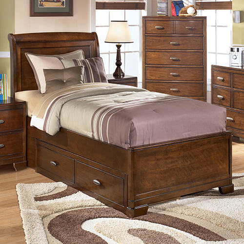 Ashley B447 63 Alea Twin Sleigh Headboard