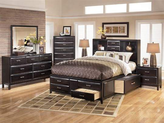 Queen Bedroom Sets With Storage ashley b473-31-36-65-64-98 kira queen storage bedroom set