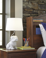 Avel - L857594 - Ceramic Table Lamp (1/CN) - White