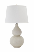 Saffi - L100074 - Ceramic Table Lamp (1/CN) - Cream