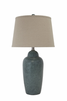 Saher - L100254 - Ceramic Table Lamp (1/CN) - Green