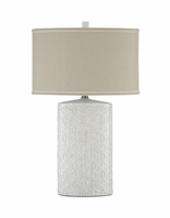 Shelvia - L100374 - Ceramic Table Lamp (1/CN) - Antique White