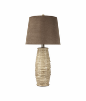 Haldis - L136534 - Ceramic Table Lamp (2/CN) - Beige