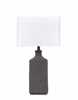 Patience - L121844 - Ceramic Table Lamp (2/CN) - Gray