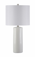 Steuben - L177904 - Ceramic Table Lamp (2/CN) - White
