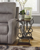 Braunsen - T017-329 - Chair Side End Table - Brown