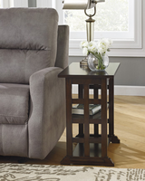 Braunsen - T017-477 - Chair Side End Table - Brown