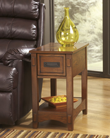 Breegin - T007-319 - Chair Side End Table - Brown
