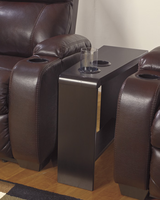Carlyle - T771-07 - Chair Side End Table - Almost Black