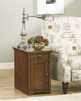 Laflorn - T127-699 - Chair Side End Table - Brown