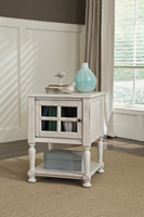 Mirimyn - T505-102 - Chair Side End Table - White