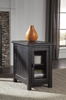 Sharlowe - T835-7 - Chair Side End Table - Charcoal