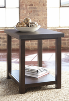 Starmore - T913-7 - Chair Side End Table - Gray/Brown