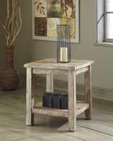 Vennilux - T500-302 - Chair Side End Table - Bisque