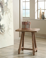 Vennilux - T500-502 - Chair Side End Table - Light Brown