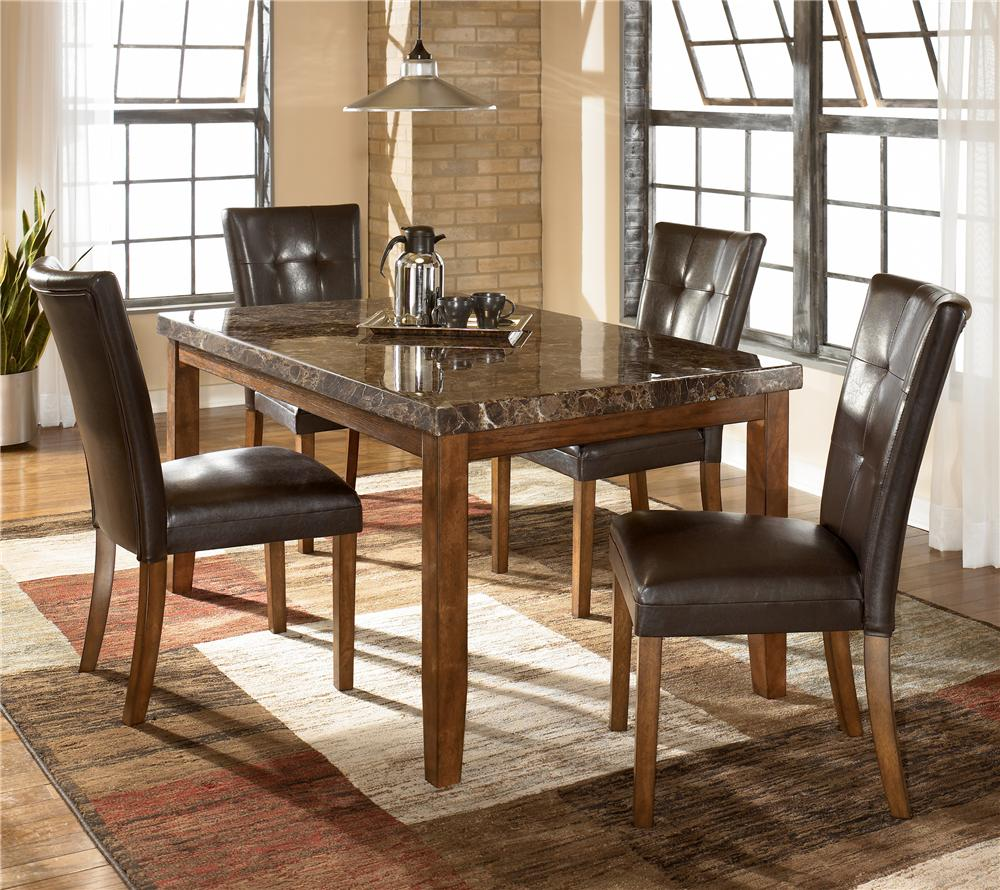 Ashley D328 25 01 Lacey Rectangular Dining Room Table Set