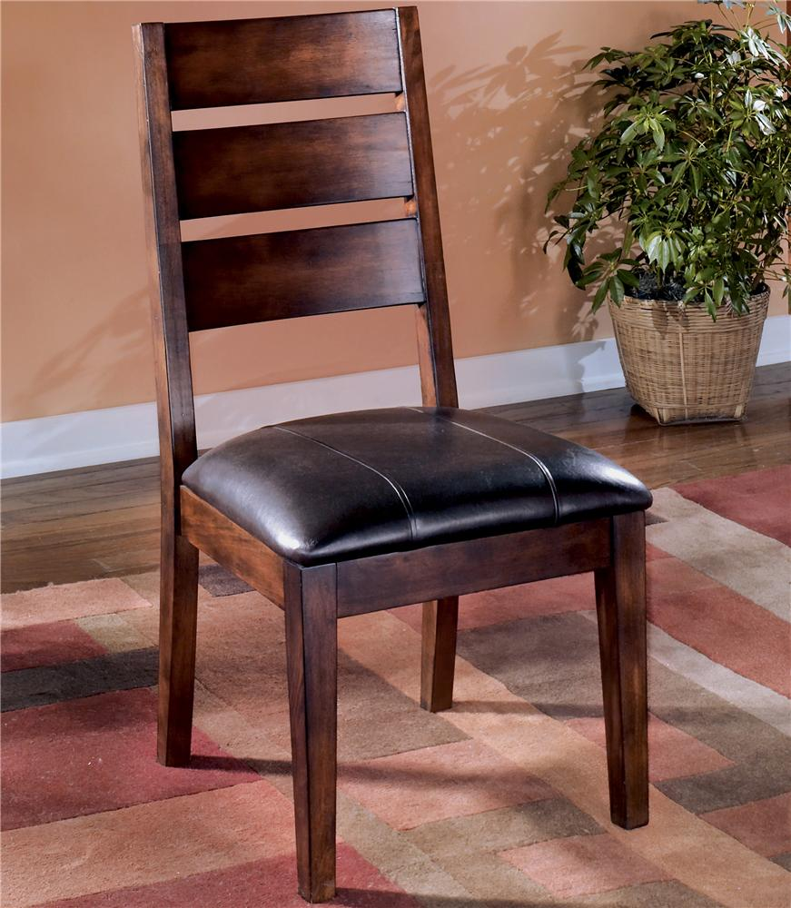 Ashley D442 01 Larchmont Dining Upholstered Side Chair