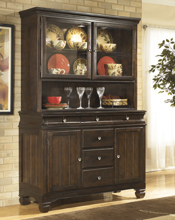 Ashley D480 81 Hayley Dining Room China Cabinet