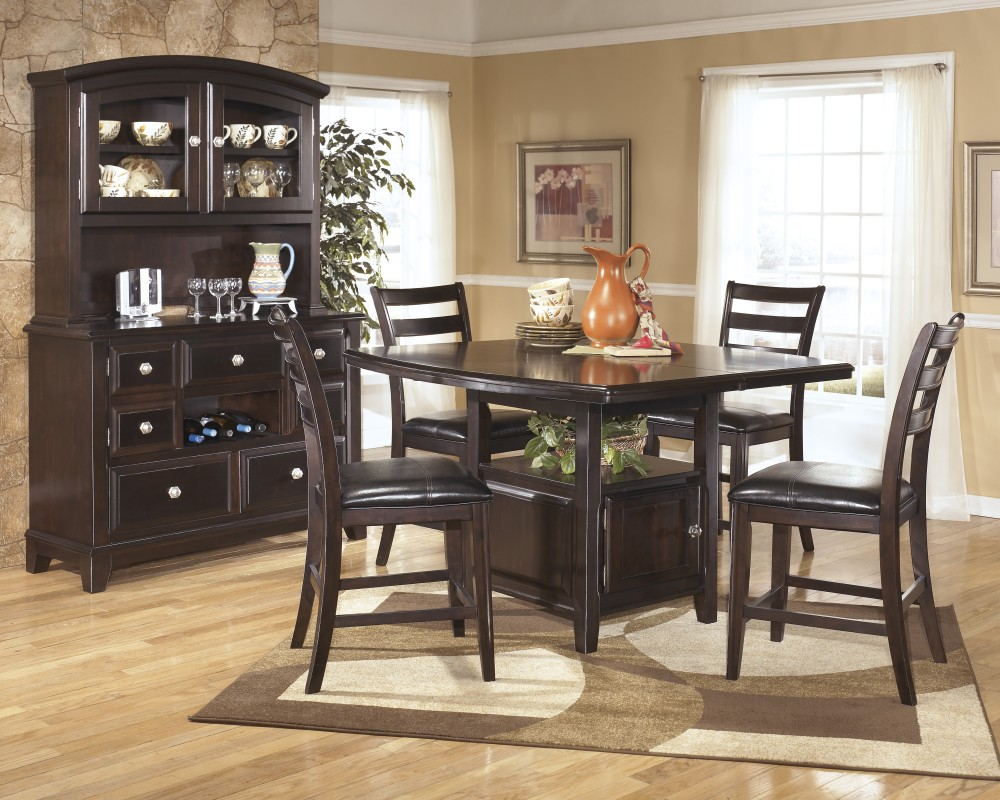 Ashley d520 32 124 ridgley square dining room counter extension ashley d520 32 124 ridgley square dining room counter extension table set dzzzfo