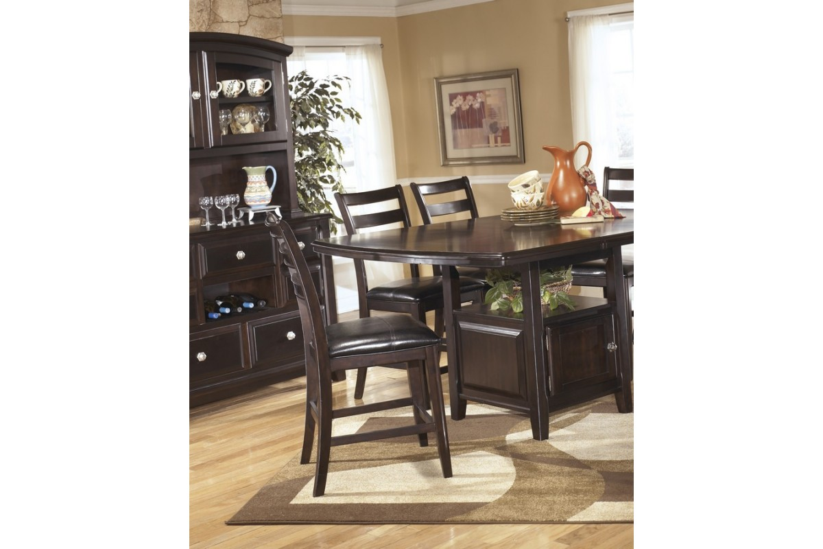 Ashley d520 32 ridgley square dining room counter extension table - Ashley dining rooms ...