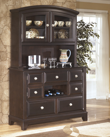 Ashley D520 81 Ridgley Dining Room China Cabinet