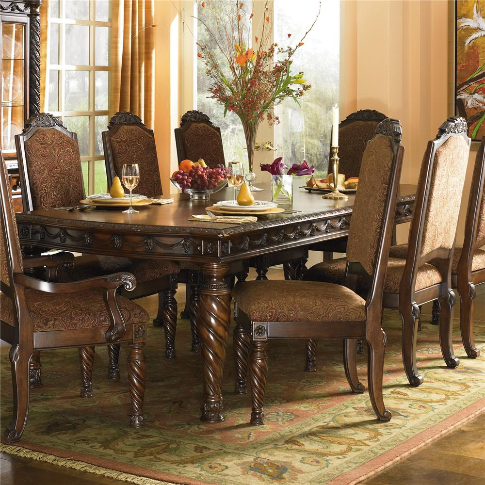 Ashley furniture dining room tables and sets living room for Ashley furniture dining room table