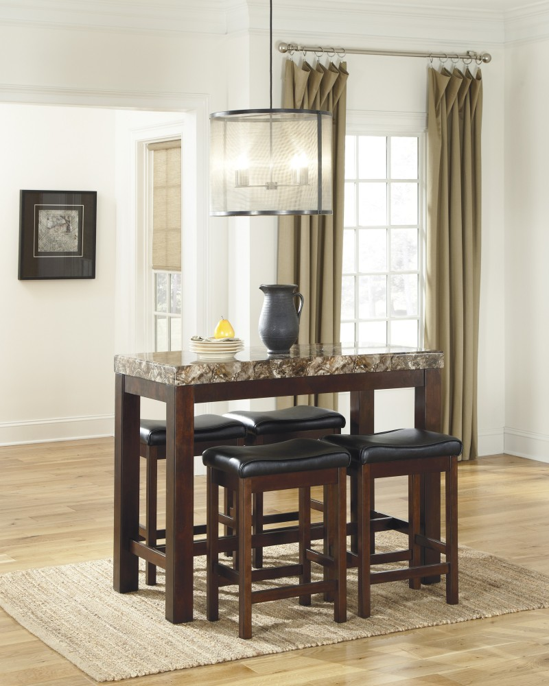 Ashley D567 13 124 Kraleene 5 Piece Rectangular Dining