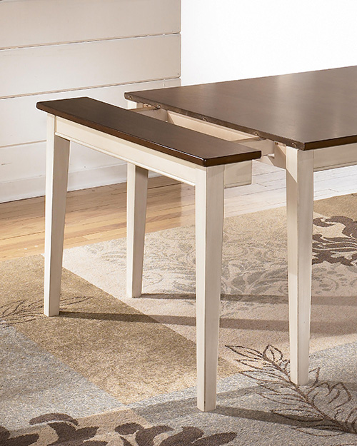 Ashley D583 45 Whitesburg Dining Room Extensionension Table