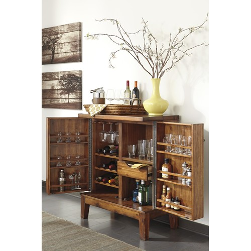 Ashley d586 65 shallibay dining room server - Servers for dining room ...