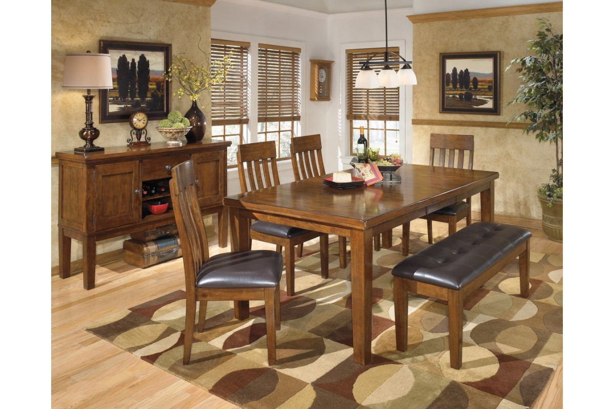 Ashley D594-35-01-00 Ralene 6-piece Rectangular Dining Room ...
