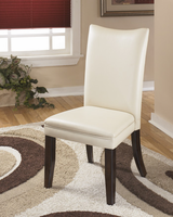 Charrell - D357-02 - Dining UPH Side Chair (2/CN) - Ivory