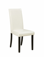 Kimonte - D250-01 - Dining UPH Side Chair (2/CN) - Ivory