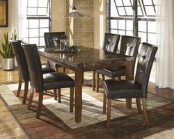 Lacey - D328-01 - Dining UPH Side Chair (2/CN) - Medium Brown
