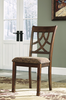 Leahlyn - D436-01 - Dining UPH Side Chair (2/CN) - Medium Brown