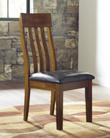 Ralene - D594-01 - Dining UPH Side Chair (2/CN) - Medium Brown