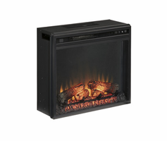 Entertainment Accessories - W100-01 - Fireplace Insert - Black