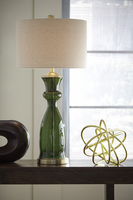 Ambrogio - L430464 - Glass Table Lamp (1/CN) - Green