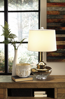 Jasmyn - L430424 - Glass Table Lamp (1/CN) - Gold Finish