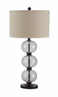 Maleko - L430314 - Glass Table Lamp (1/CN) - Clear/Bronze Finish