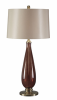 Sandera - L430134 - Glass Table Lamp (1/CN) - Amber