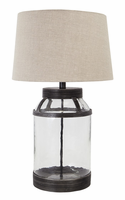 Shanika - L430034 - Glass Table Lamp (1/CN) - Transparent