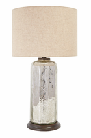 Sharlie - L430084 - Glass Table Lamp (1/CN) - Silver Finish