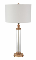 Tabby - L430264 - Glass Table Lamp (1/CN) - Clear/Natural