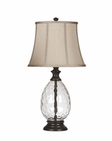 Olivia - L440234 - Glass Table Lamp (2/CN) - Bronze Finish