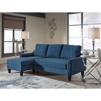 <b>Ashley-Jarreau-Blue Queen Sofa Bed <b>